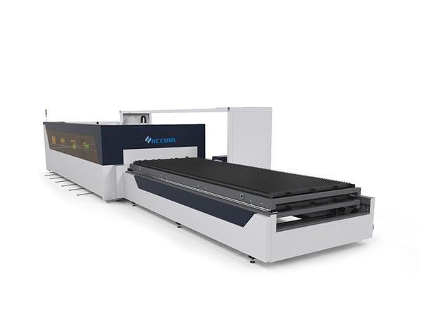4mm kolstålrör rörplåt cnc fiber laser skärmaskin med raytools