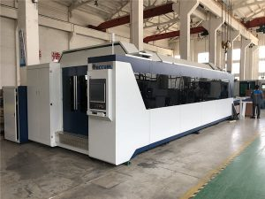 professionell CNC-fiberlaserskärmaskin 1000w 1500w med utbytebord