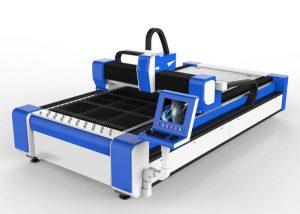 500W fiber laser skärmaskin för rostfritt stål / ms höghastighet 100 m / min