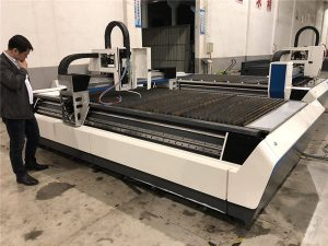 rör och arkskärning i en laserskärmaskin 700-6000w