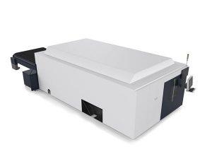 metallplåt / rör industriell laser skärmaskin dubbelmotor high end cnc-system