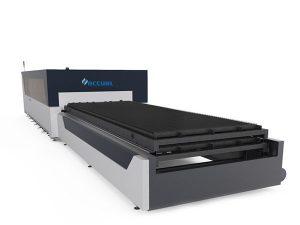 industriell laserskärningsmaskin med dubbla drivenheter 380v för metallplåtstruktur