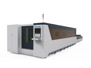 metallbearbetning industriell laser skärmaskin full täckt typ 1000w