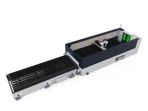 hög precision metallfiber laser skärmaskin 500w raycools skärhuvud