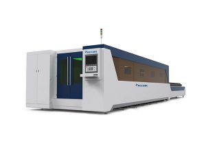 stabil fiber laser skärutrustning, stålplåt laser skärmaskin hög prestanda