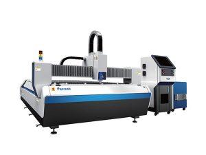 öppen typ fiber laser metall skärmaskin, cnc laser gravering skärmaskin