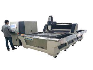 full slutna cnc-fiberlaserskärmaskin 1000w 1080nm laser