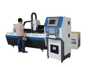 vattenkylning fiber laser metall skärmaskin, laser skär maskin för hantverk