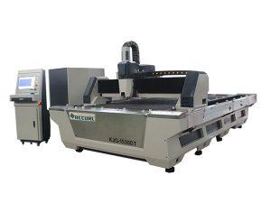 industriell laserskärningsmaskin med hög noggrannhet 1000w för skärning av kolstål