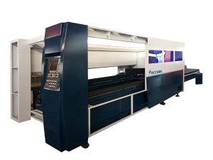 metallplåt industriell laser skärmaskin 500w kapsling skyddssystem