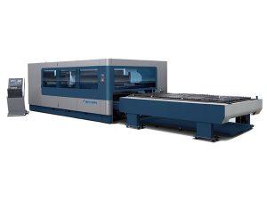 cnc metall industriell laserskärningsmaskin 380v / 50hz 1kw 1,5kw laserkälla
