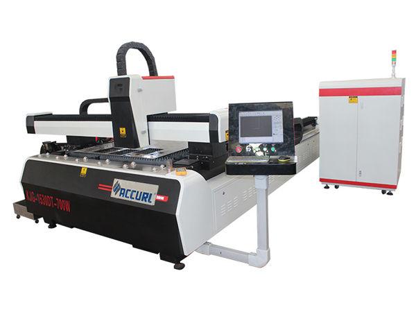 legering stålplåt cnc fiber laser skärmaskin dubbel driven hög effektivitet
