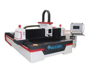 metallplatta liten laserskärare, liten lasermetallskärmaskin 60m / min