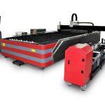 cnc fiber laserskärningsmaskin med slutet typ 500w / 1000w hög hållfasthet