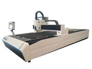 aluminiumrör och ark 3d laserskärmaskin med 8mm stålkonstruktion