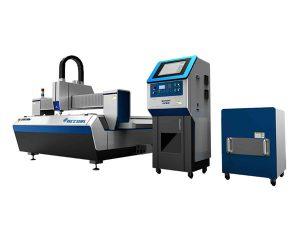 dubbeldrivna fiberlaserslang skärmaskin hög skärhastighet för industriindustri