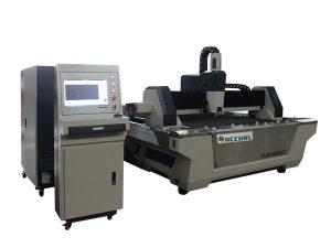 cnc fiber laser skärmaskin rostfritt stål ark skärare med utbyte bord