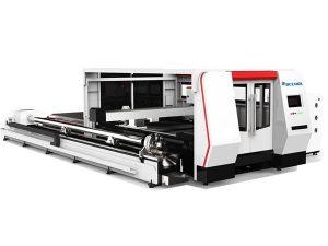 roterande enhet fiber laser metall skärmaskin