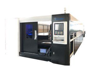 plåt rostfritt stål fiber laser skärmaskin 1000w hög precision