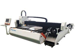 röret metallfiber laser skärmaskin 1500w justerbar hastighet med automatisk matning