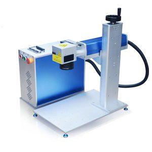 fiberlasergraveringsmaskin 10-meters maskinkroppsdesign